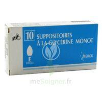 Suppositoires A La Glycerine Monot Enfants à Paray-le-Monial
