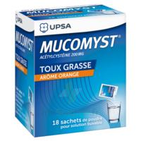Mucomyst 200 Mg Poudre Pour Solution Buvable En Sachet B/18 à Paray-le-Monial