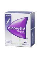 Nicorette Inhaleur 10 Mg Cartouche P Inh Bucc Inhalation Buccale B/42 à Paray-le-Monial