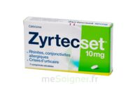 ZYRTECSET 10 mg, comprimé pelliculé sécable à Paray-le-Monial