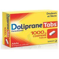 DOLIPRANETABS 1000 mg Comprimés pelliculés Plq/8 à Paray-le-Monial