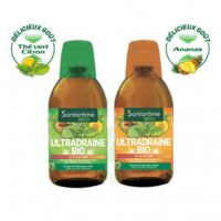 Ultradraine Bio Solution buvable Thé vert citron Fl/500ml à Paray-le-Monial