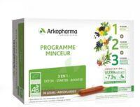 Arkofluide Bio Ultraextract Coffret programme minceur 3x10 Ampoules/10ml à Paray-le-Monial
