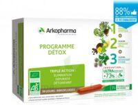 Arkofluide Bio Ultraextract Coffret programme détox 3x10 Ampoules/10ml à Paray-le-Monial