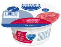 Fresubin 2kcal Crème sans lactose Nutriment fraise des bois 4 Pots/200g à Paray-le-Monial