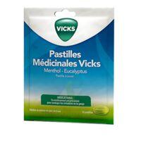 PASTILLES MEDICINALES VICKS Past à sucer menthol eucalyptus Sach/18 à Paray-le-Monial