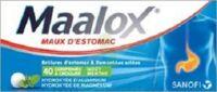 MAALOX HYDROXYDE D'ALUMINIUM/HYDROXYDE DE MAGNESIUM 400 mg/400 mg Cpr à croquer maux d'estomac Plq/40 à Paray-le-Monial