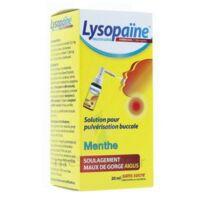 LYSOPAÏNE AMBROXOL 17,86 mg/ml Solution pour pulvérisation buccale maux de gorge sans sucre menthe Fl/20ml à Paray-le-Monial