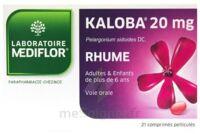 KALOBA 20 mg Comprimé pelliculé Plq/21 à Paray-le-Monial