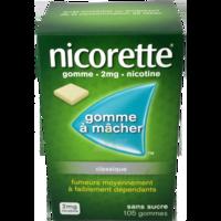 NICORETTE 2 mg Gom à mâcher médic sans sucre menthe fraîche Plq/105gom à Paray-le-Monial