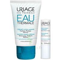 Uriage Eau Thermale Crème d'eau mains T/30ml+Stick lèvres à Paray-le-Monial