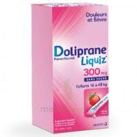 Dolipraneliquiz 300 mg Suspension buvable en sachet sans sucre édulcorée au maltitol liquide et au sorbitol B/12 à Paray-le-Monial