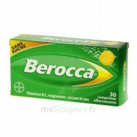 Berocca Comprimés effervescents sans sucre T/30 à Paray-le-Monial