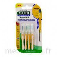 GUM TRAV - LER, 1,3 mm, manche jaune , blister 4 à Paray-le-Monial