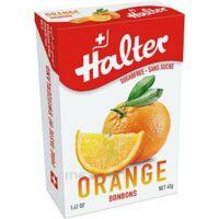 Halter Bonbon sans sucre orange 40g à Paray-le-Monial
