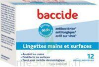 Baccide Lingette désinfectante mains & surface 12 Pochettes à Paray-le-Monial