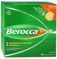 Berocca Comprimés effervescents sans sucre T/60 à Paray-le-Monial