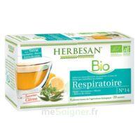 Herbesan Thym bio Tisane respiratoire 20 Sachets à Paray-le-Monial