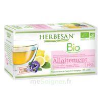 Herbesan Infusion Bio Tisane allaitement 20 Sachets à Paray-le-Monial