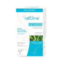 Netline Crème visage/corps décolorante peau sensible 30+30ml à Paray-le-Monial