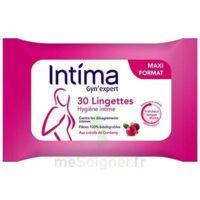 Intima Gyn'Expert Lingettes Cranberry Paquet/30 à Paray-le-Monial