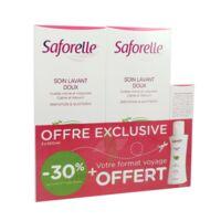 Saforelle Solution Soin Lavant Doux 2*500ml+100ml à Paray-le-Monial