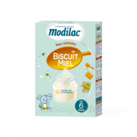 Modilac Céréales Farine Biscuit miel à partir de 6 mois B/300g à Paray-le-Monial