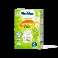 Modilac Céréales Farine 5 Céréales bio à partir de 6 mois B/230g à Paray-le-Monial