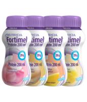 Fortimel Protein Nutriment multi saveurs caramel/vanille/fraise/mangue 4 Bouteilles/200ml à Paray-le-Monial
