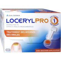 LOCERYLPRO 5 % V ongles médicamenteux Fl/2,5ml+spatule+30 limes+lingettes à Paray-le-Monial