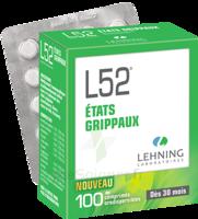 Lehning L52 Comprimés Orodispersibles Plq Pvc/pvdc/alu/100 à Paray-le-Monial
