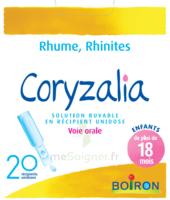 Boiron Coryzalia Solution buvable unidose B/20 à Paray-le-Monial