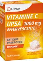 Vitamine C Upsa Effervescente 1000 Mg, Comprimé Effervescent à Paray-le-Monial